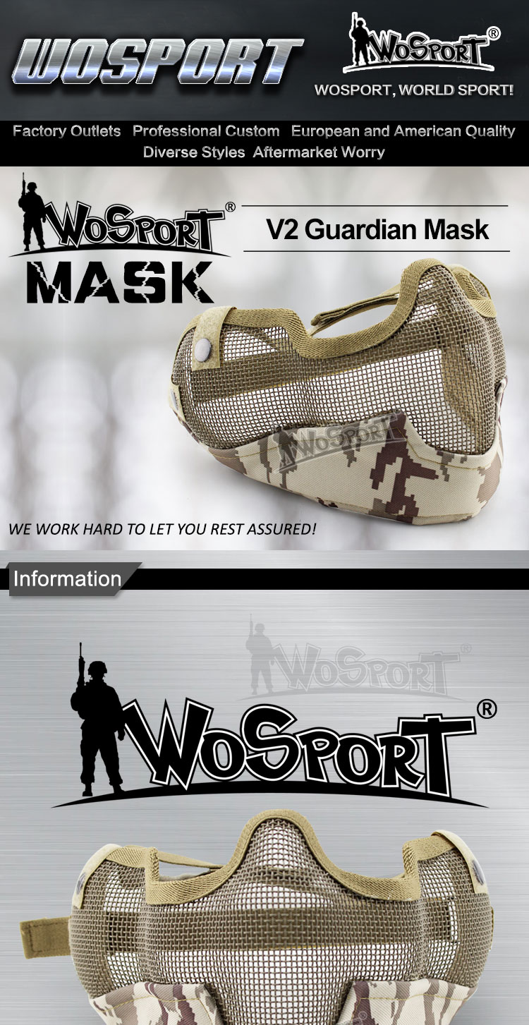Wosport V2 Guardian Coyote