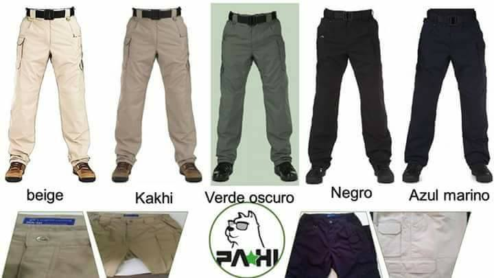 Pantalones Tácticos by PAHI