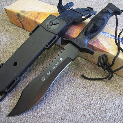 Cuchillo Militar OSO Negro