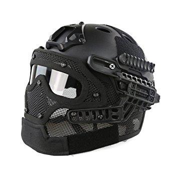 Wosport Tactical Helmet Black.
