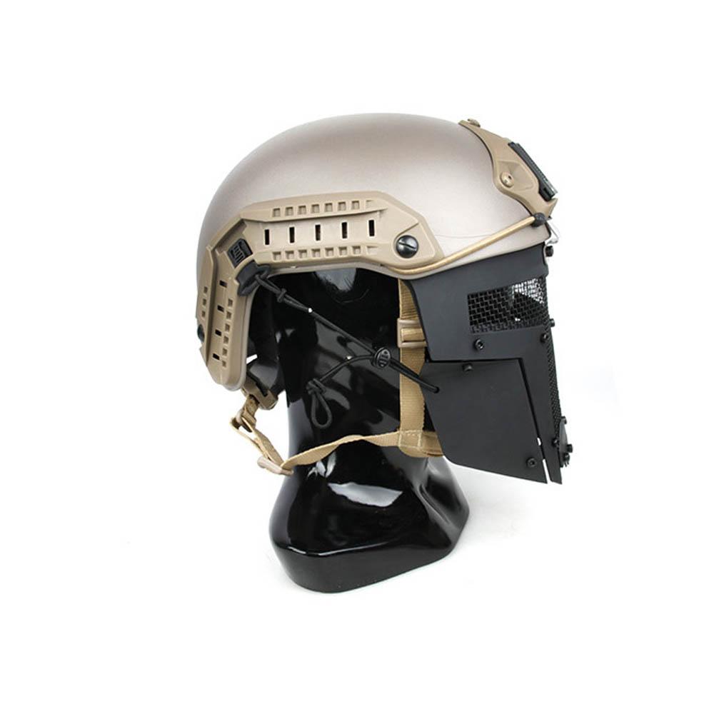TMC Spartan Mask Black