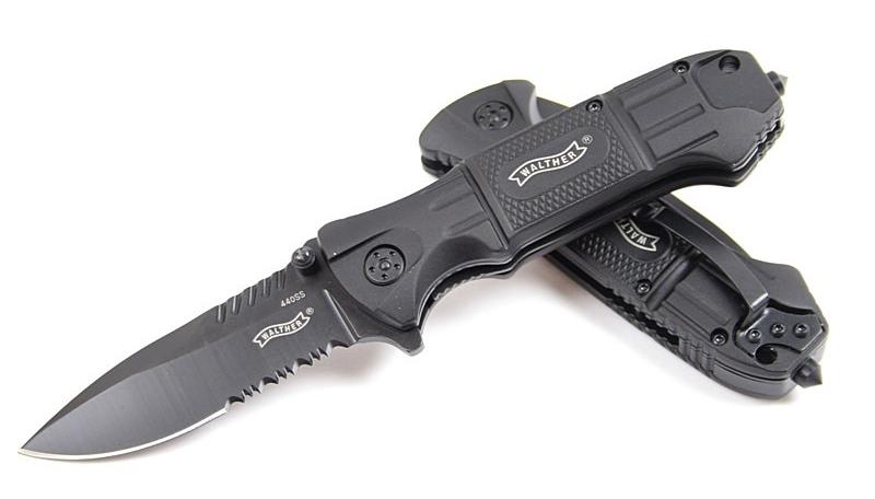 Cuchillo Walther Black Tac