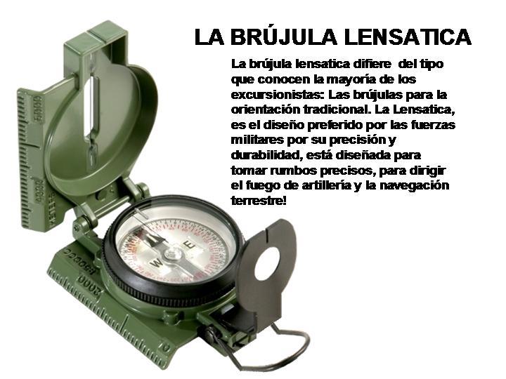 Brújula Lensatica