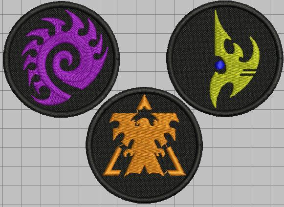 Logo Starcraft Races