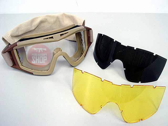 Goggles con 3 lunas de intercambio - Desert