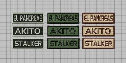 Parches de NICK personalizado