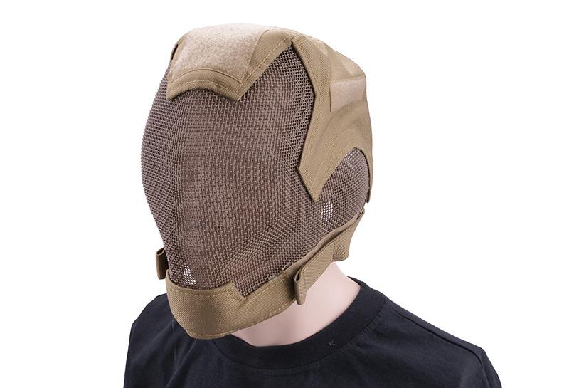 WST V6 Mascara completa de Malla COYOTE