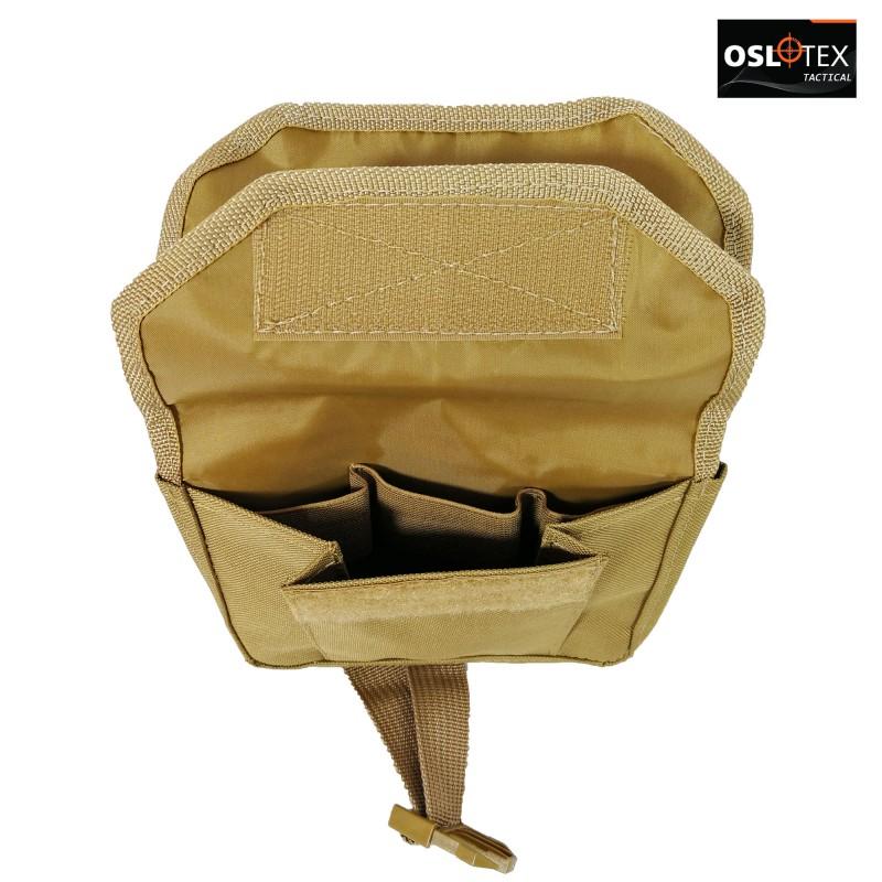 OSLOTEX Bolsito Multipropósito Doble Bolsillo Coyote
