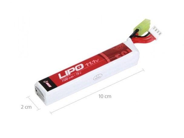 Echo 1 Lipo 11.1v 1100mAh 15C