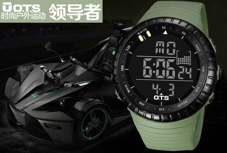 Reloj Ots T 193 Ctico Verde Per 250 Airsoft Shop
