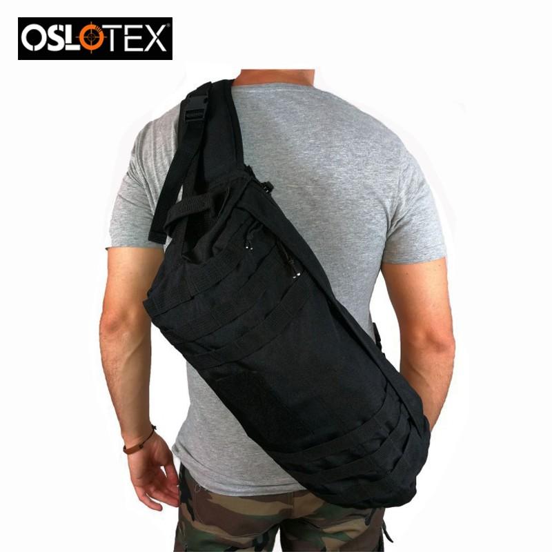 OSLOTEX MOCHILA DEPORTIVA MILITARY STYLE BK