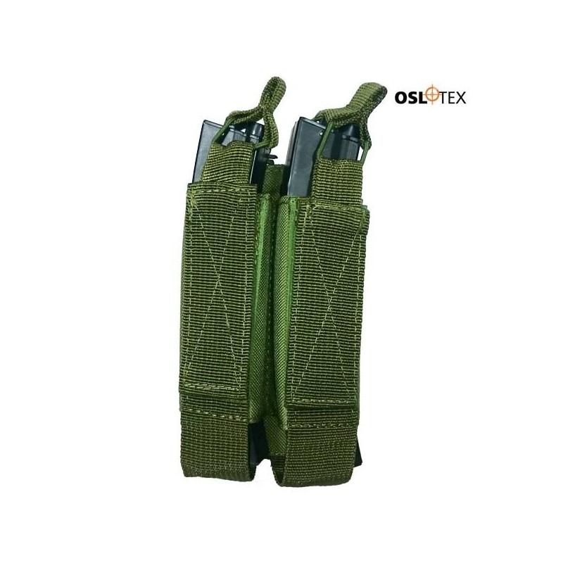 OSLOTEX PORTACARGADOR DOBLE MP5/MP7/MP9 OD