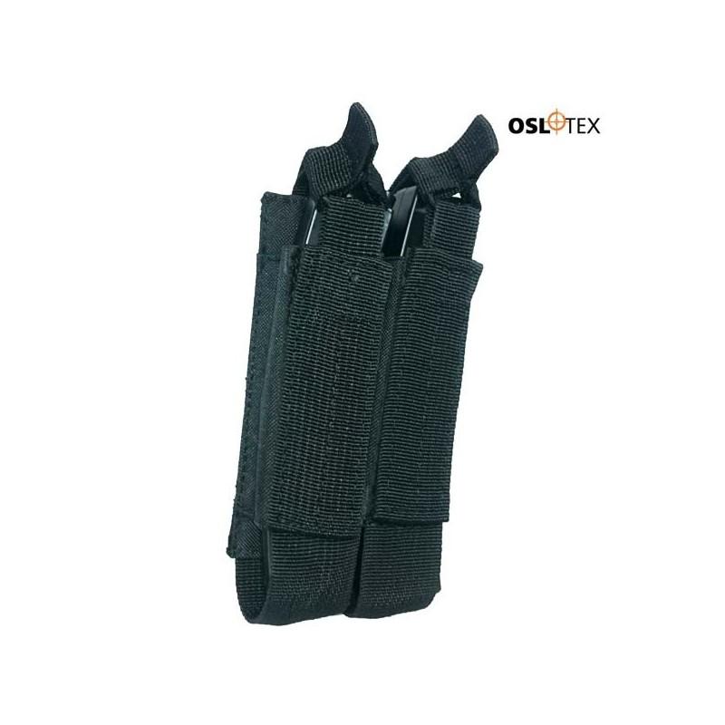 OSLOTEX PORTACARGADOR DOBLE MP5/MP7/MP9 BK