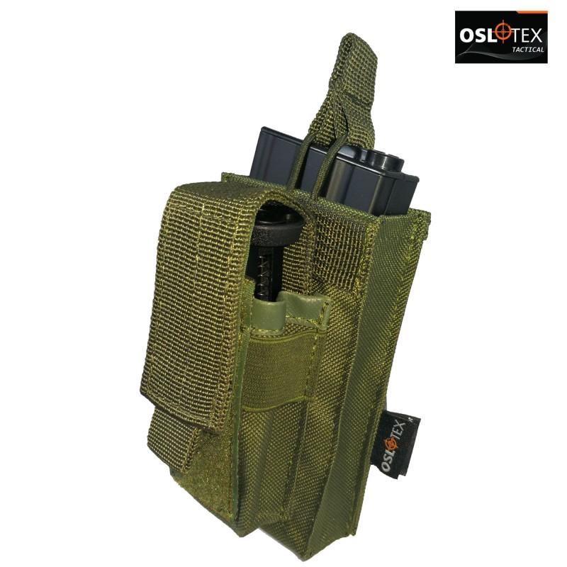 OSLOTEX Pouch Portacargador Simple Kanguro M4 OD