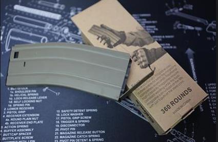 Flashmag M4 360Rd Seals (Metal) TAN